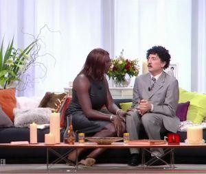 Ahmed Sylla et Gad Elmaleh : la parodie de Une ambition intime de Karine Le Marchand dans le Saturday Night Live le 5 janvier 2017