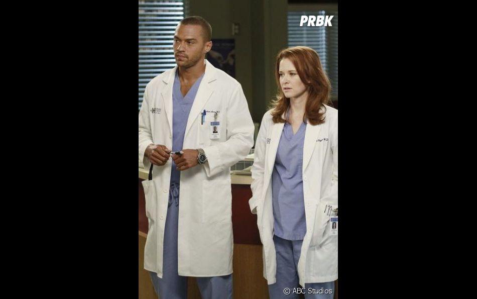 Grey's Anatomy saison 13 : April et Jackson bientôt de nouveau en couple ?