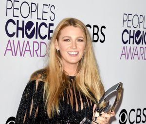 Blake Lively aux People's Choice Awards 2017 le 18 janvier
