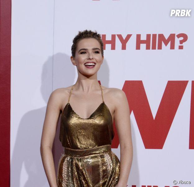 Zoey Deutch, la star du filmThe BoyFriend - Pourquoi lui ?
