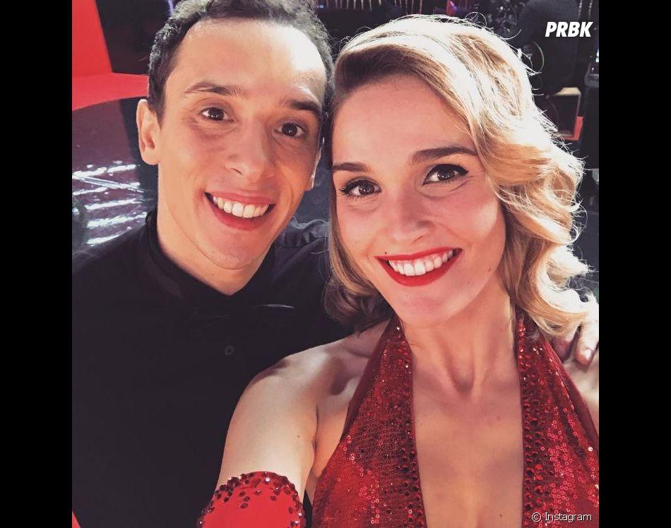 Camille Lou et son danseur Grégoire Lyonnet dans Danse avec les stars 7 sur TF1.