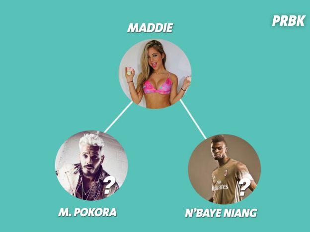 Maddy : des rumeurs de couple avec M. Pokora et de drague avec M'Baye Niang