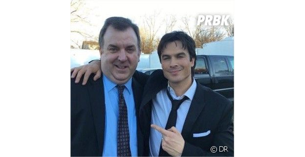 The Vampire Diaries saison 8 : Ian Somerhalder sans sa bague, la photo qui intrigue les fans