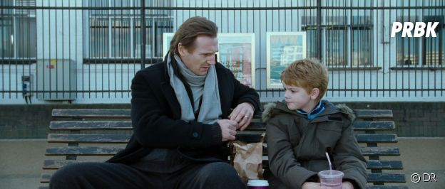 Love Actually : Liam Neeson et Thomas Brodie-Sangster dans le film