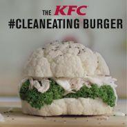KFC lance le burger healthy au chou-fleur... ou presque