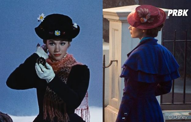 Mary Poppins : Julie Andrew et Emily Blunt