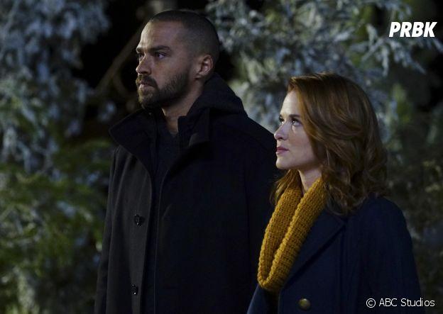 Grey's Anatomy saison 13, épisode 16 : April (Sarah Drew) et Jackson (Jesse Williams) bientôt réconciliés ?