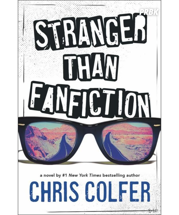 Chris Colfer (Glee) : la couverture de son livre Stranger than Fanfiction
