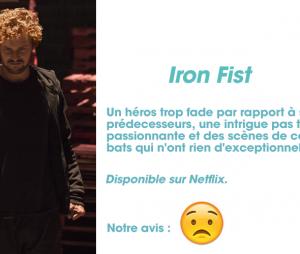 Iron Fist : notre avis sur lsa série