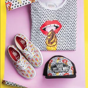 Vans x Kendra Dandy : le pop art s'invite dans cette collection colorée