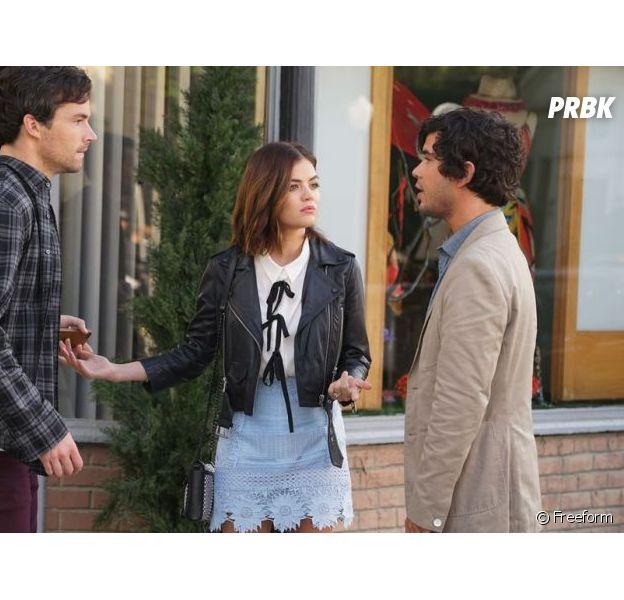 Pretty Little Liars saison 7 : un ex d'Aria de retour dans la suite, les premières photos