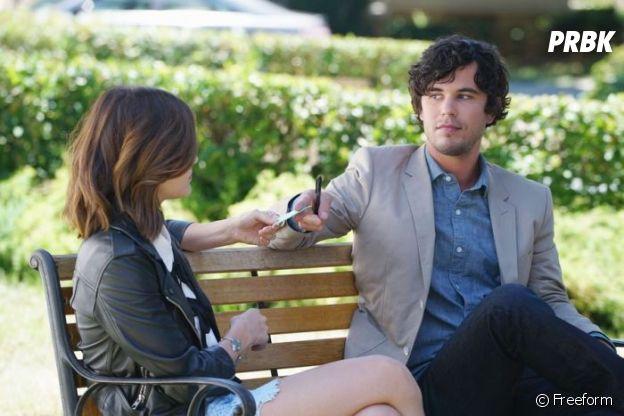 Pretty Little Liars saison 7 : Holden retrouve Aria dans la suite