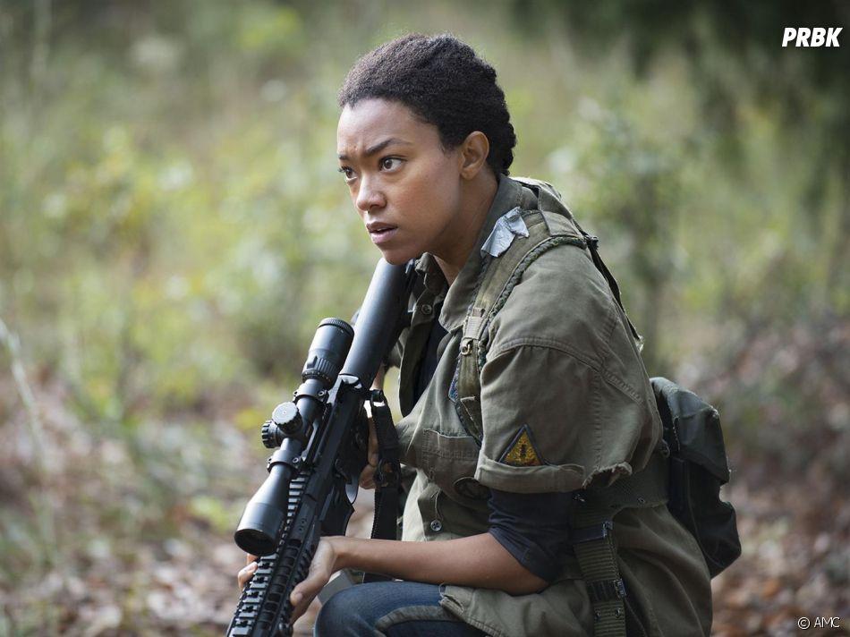 The Walking Dead saison 7 : l'avis de Sonequa Martin Green sur la mort de Sasha