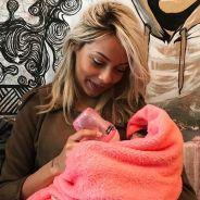 Nehuda maman comblée : elle dévoile une photo avec son bébé et lui fait une belle déclaration