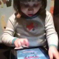 Un bébé surdoué joue sur l' Ipad ... Regardez la vidéo!!
