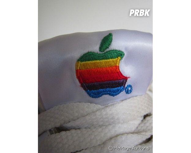 Les sneakers Apple collector mises aux enchères
