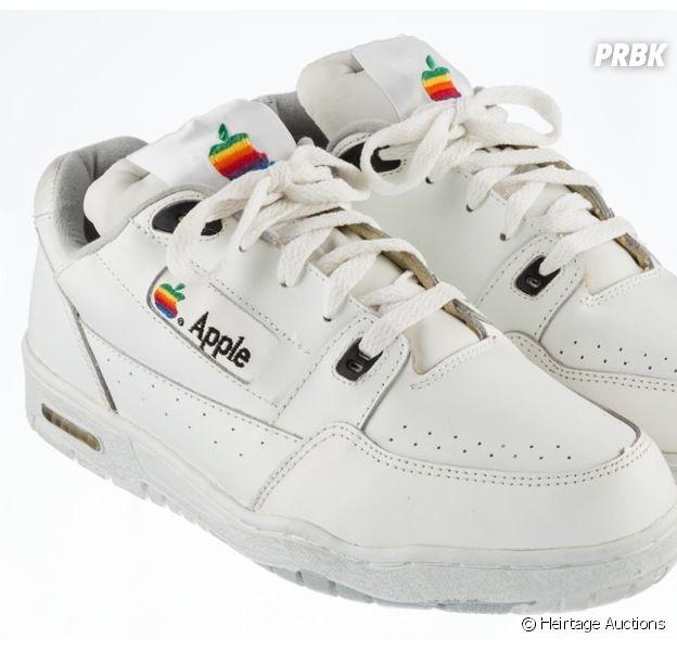 Sneakers Apple : le modèle collector aux enchères