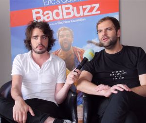Eric et Quentin (Quotidien) en interview pour PureBreak pour la sortie du film Bad Buzz