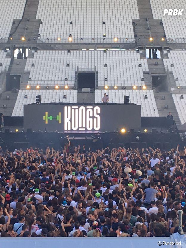 Summer Stadium Festival 2017 : Kungs à l'Orange Vélodrome