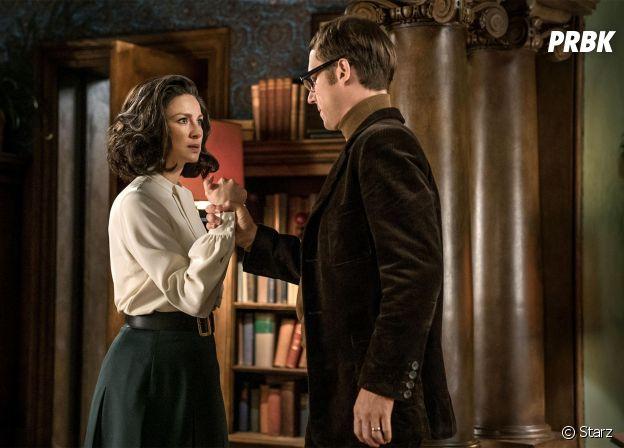 Outlander saison 3 : Claire et Frank sur une photo