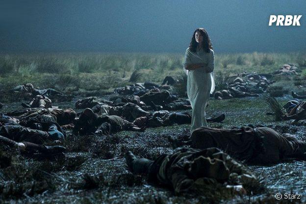 Outlander saison 3 : Claire sur une photo