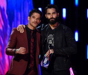 Tyler Posey et Tyler Hoechlin aux Teen Choice Awards le 13 août 2017