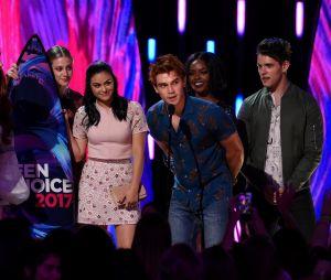 Les stars de Riverdale aux Teen Choice Awards le 13 août 2017