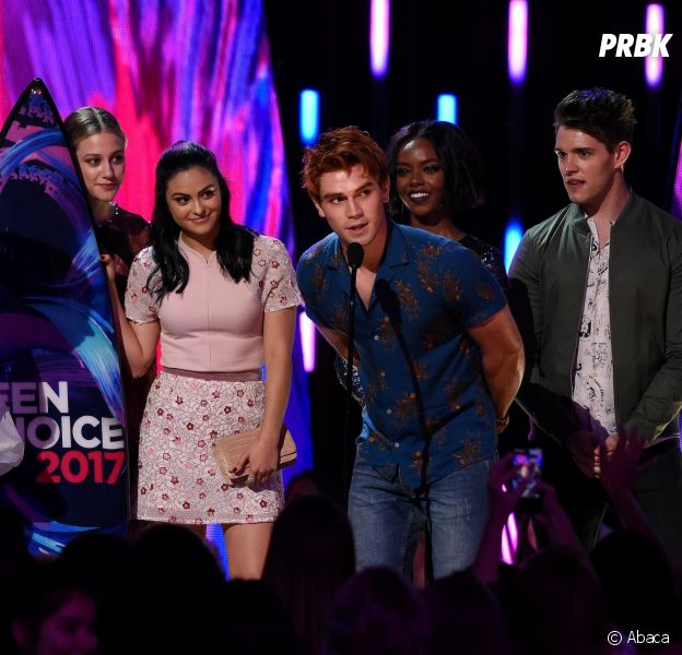 Les stars de Riverdale aux Teen Choice Awards le 13 août 2017