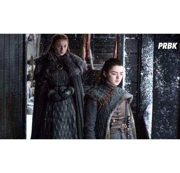 Game of Thrones saison 7 : Arya vs Sansa,une scène très importante a été coupée au montage