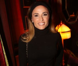 Capucine Anav glamour à la soirée d'inauguration de l'Hôtel Fouquet's Barrière à Paris