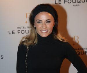 Capucine Anavà la soirée d'inauguration du Fouquet's Barrière à Paris ce jeudi 14 septembre