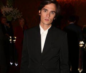 Capucine Anav et Alain-Fabien Delon réunis à la soirée d'inauguraiton du Fouquet's Barrière à Paris ce jeudi 14 septembre