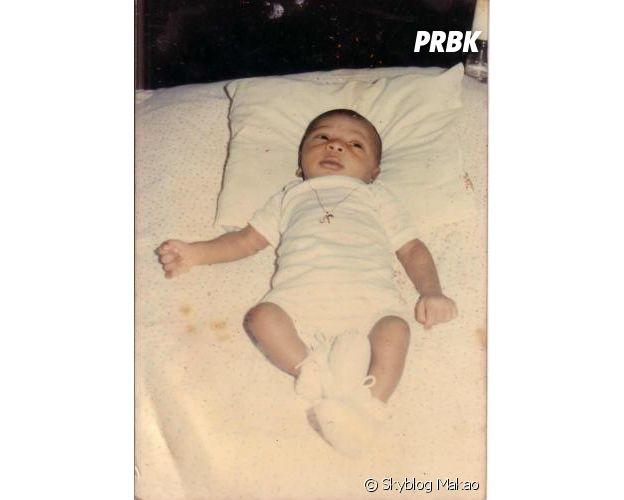 Makao (Secret Story 11) lors de sa naissance