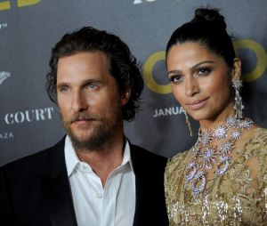 Matthew McConaughey et sa femme Camila Alves ont eu 3 enfants ensemble