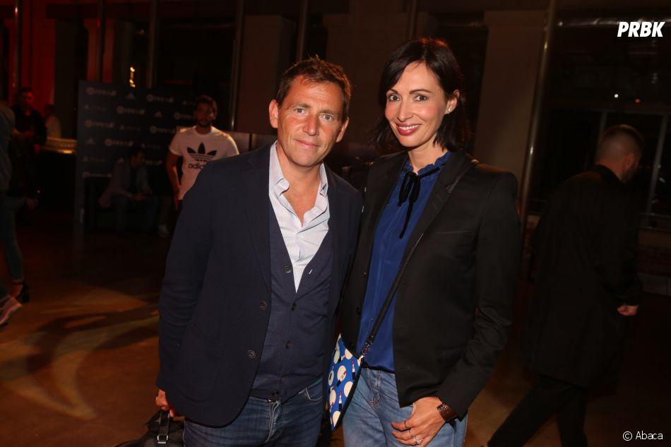 FIFA 18 :Géraldine Maillet et son mari Daniel Riolo sont venus tester le jeu de foot