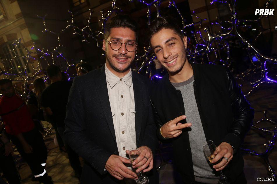 Martin et Jordi à la soirée de lancement de FIFA 18
