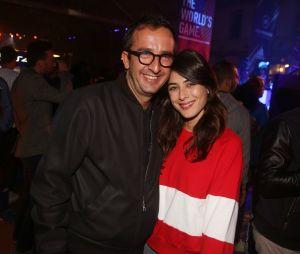 Cyrille Eldin et Sandrine Calvayrac à la soirée FIFA 18