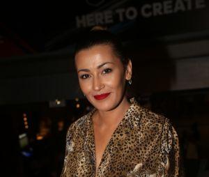 La belle Karima Charni à la soirée FIFA 18 au Cent Quatre le 25 septembre 2017