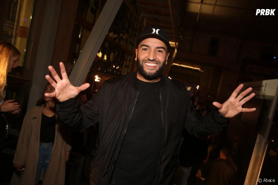 Kamel le magicien à la soirée de lancement FIFA 18