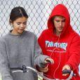 Selena Gomez retrouve Justin Bieber pour une sortie à vélo à Los Angeles