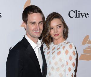 Miranda Kerr enceinte d'Evan Spiegel, le co-fondateur de Snapchat !