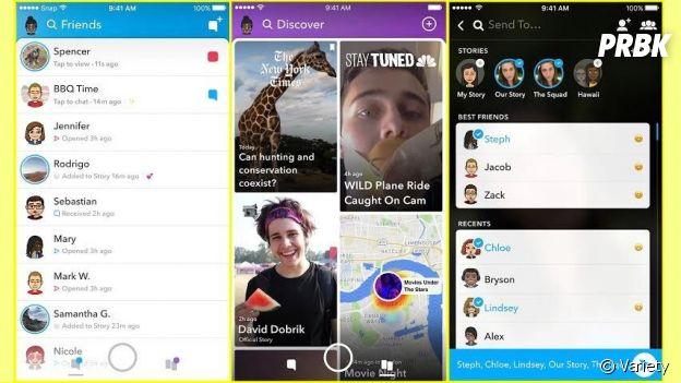 Snapchat nouvelle version : son design dévoilé !