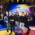 Just Dance World Cup 2018 : Benoît Dubois, Brahim Zaibat, Ayem Nour, Mehdi Kerkouch et Natoo sur le plateau de la finale française