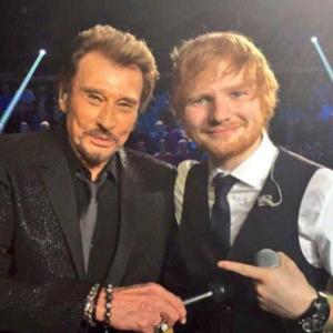 Johnny Hallyday est mort : Ed Sheeran lui rend hommage avec un message touchant