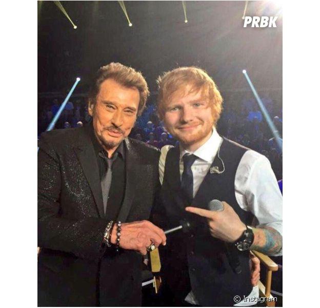 Johnny Hallyday mort : Ed Sheeran lui rend hommage avec un message touchant