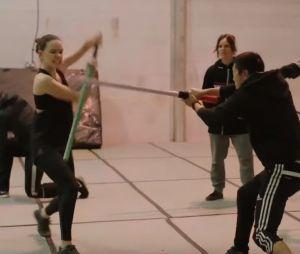 Star Wars 8 - Les derniers Jedi : découvrez l'entraînement impressionnant de Daisy Ridley et Adam Driver