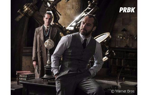 Les Animaux Fantastiques 2 : Grindelwald flippant, Dumbledore badass sur les premières images