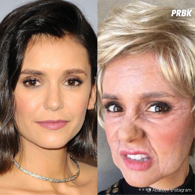 Nina Dobrev transformée : la star de The Vampire Diaries grimée en femme âgée, elle est méconnaissable !