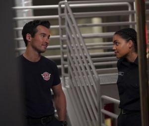 Jay Hayden et Barrett Doss dans le spin-off de Grey's Anatomy