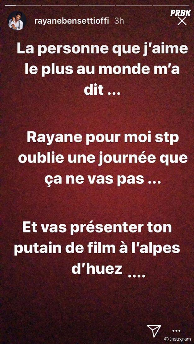 Rayane Bensetti sera présent au festival de l'Alpe d'Huez malgré son immense peine : il se confie sur Instagram !